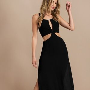 Tobi Nothing to Fear Black Maxi Dress